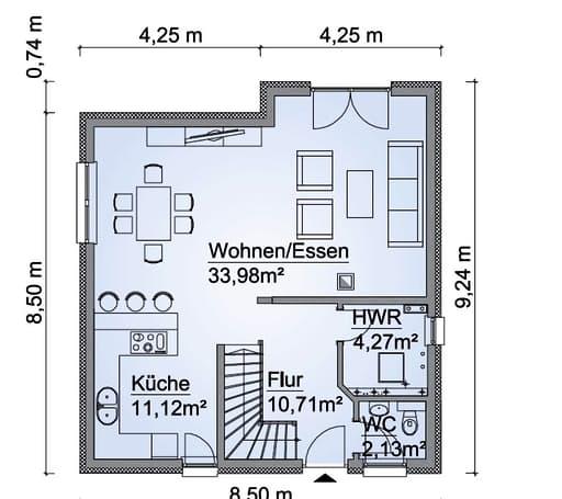 SH 114 Variante B Floorplan 1