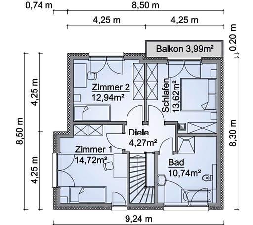 SH 114 Variante B Floorplan 2