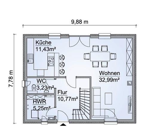 SH 122 Variante A3 Floorplan 1