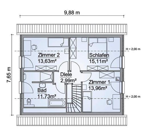 SH 122 Variante A3 Floorplan 2