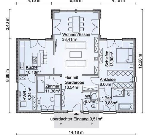 SH 136 WB Variante D Floorplan 1