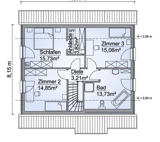 SH 136 XXL floorplan 2