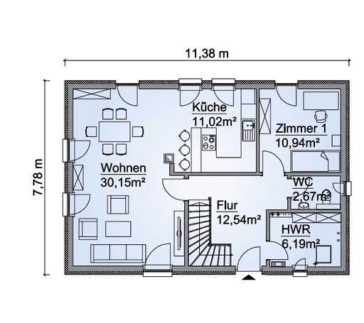 SH 142 D FS Floorplan 1