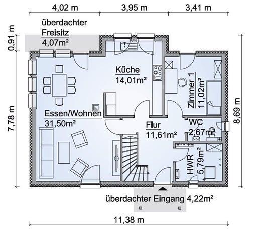 SH 154 Variante D Floorplan 1