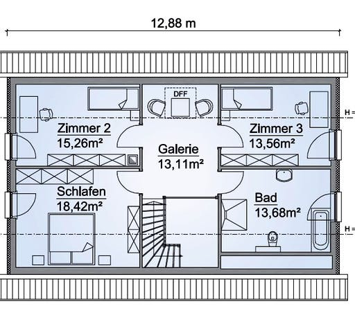 SH 160 Variante D Floorplan 2