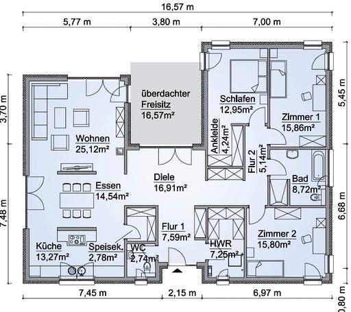 SH 169 WB Var. A Floorplan 1
