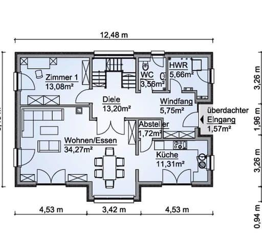 SH 180 D Floorplan 1