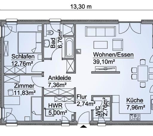 SH 95 B Var. C Floorplan 1