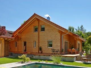 Siglingen von Rems-Murr-Holzhaus Außenansicht 1