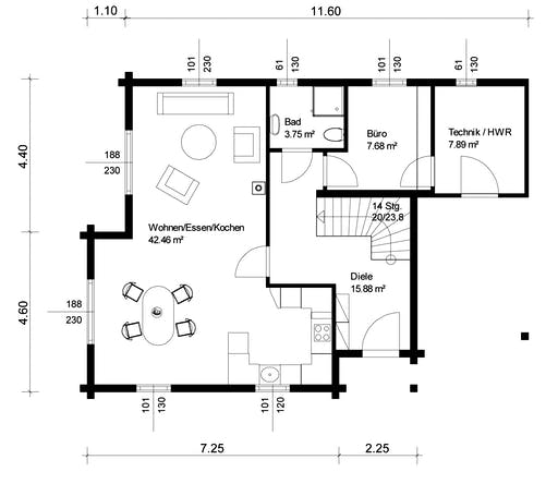 Siglingen Floorplan 1