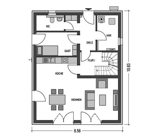 Sistig - Alto 520 Floorplan 1