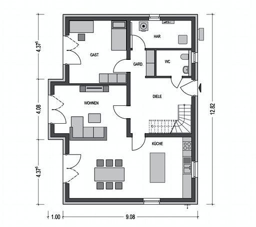 Sistig - Alto 650 Floorplan 1