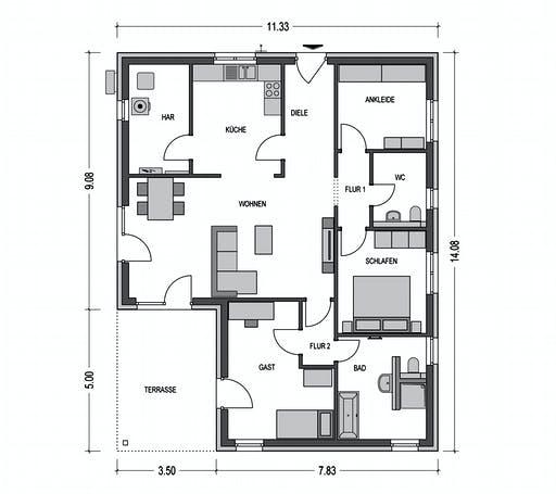 Sistig - Cumulus 960 Floorplan 2