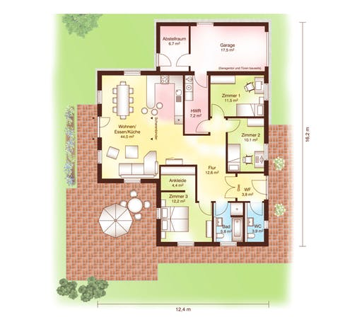 Skagen Floorplan 1
