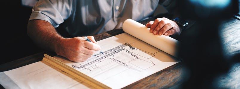 hausbau mit einem architekten die kosten im berblick behalten ratgeber. Black Bedroom Furniture Sets. Home Design Ideas