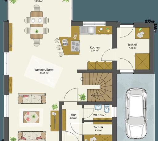 SMART A - Flachdach floor_plans 2