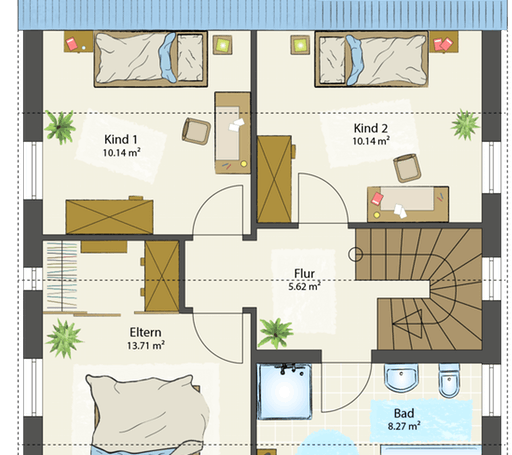 SMART A - Satteldach floor_plans 0