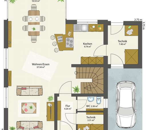 SMART A - Satteldach floor_plans 2