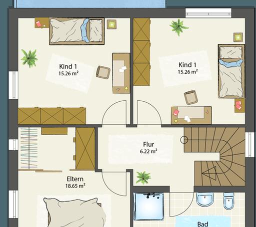 SMART B - Flachdach floor_plans 0