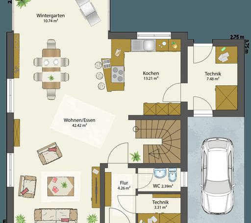 SMART B - Flachdach floor_plans 2