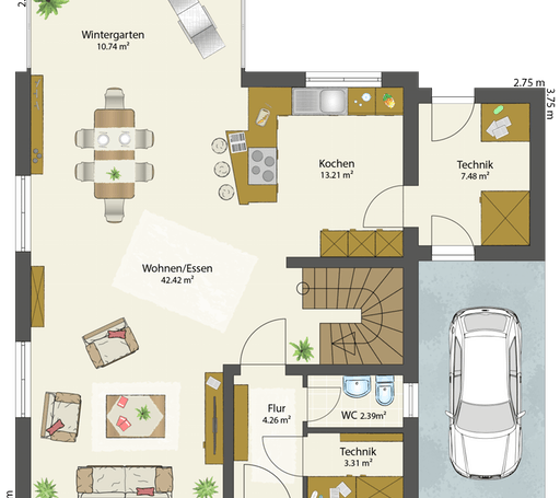 SMART B - Satteldach floor_plans 2