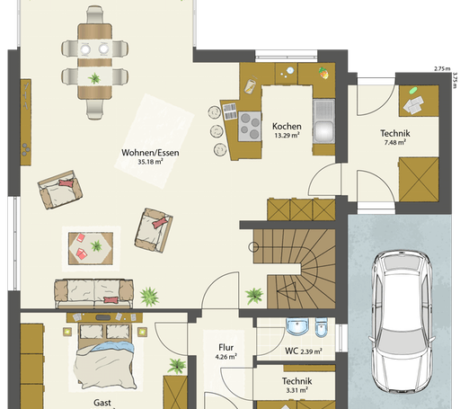 SMART C - Flachdach floor_plans 2