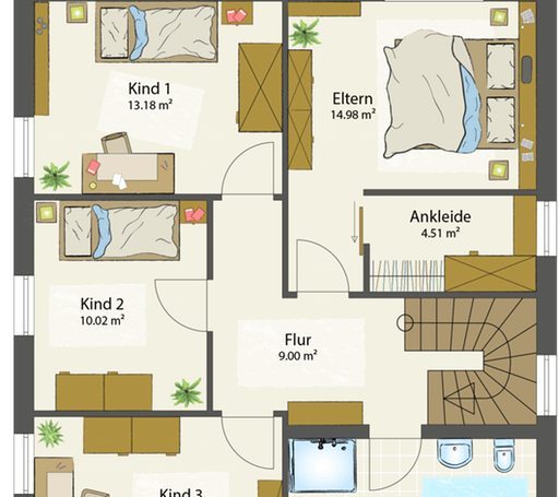 SMART D - Flachdach floor_plans 0