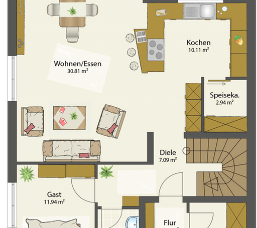 SMART D - Flachdach floor_plans 1