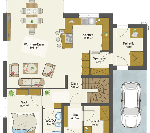 SMART D - Flachdach floor_plans 2