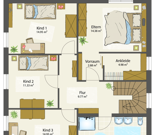 SMART E - Flachdach floor_plans 0