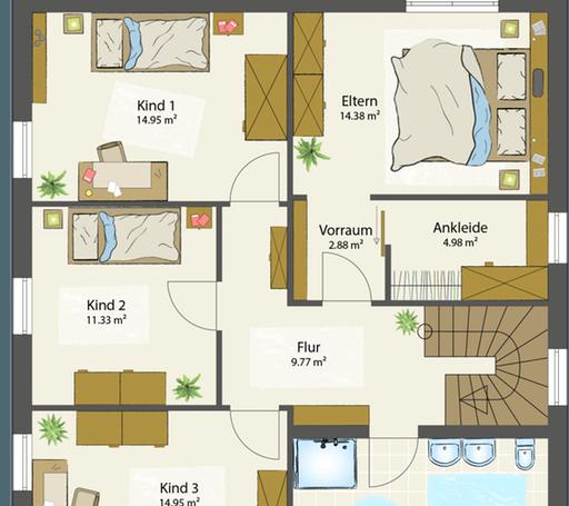 SMART E - Flachdach floor_plans 0