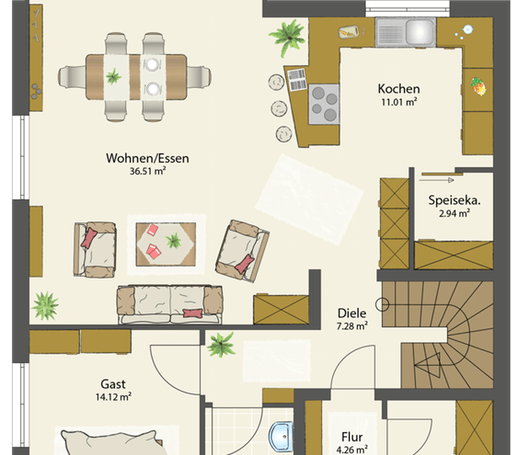 SMART E - Flachdach floor_plans 1