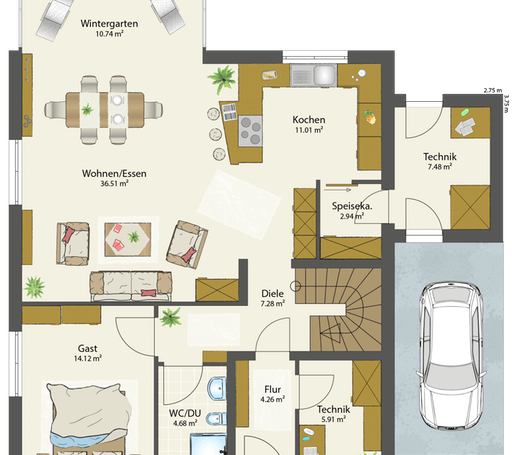 SMART E - Flachdach floor_plans 2