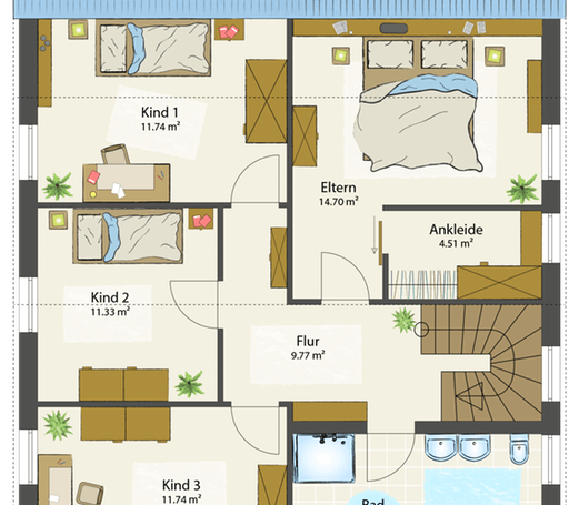 SMART E - Satteldach floor_plans 0