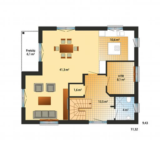 Solitüde floorplan 01