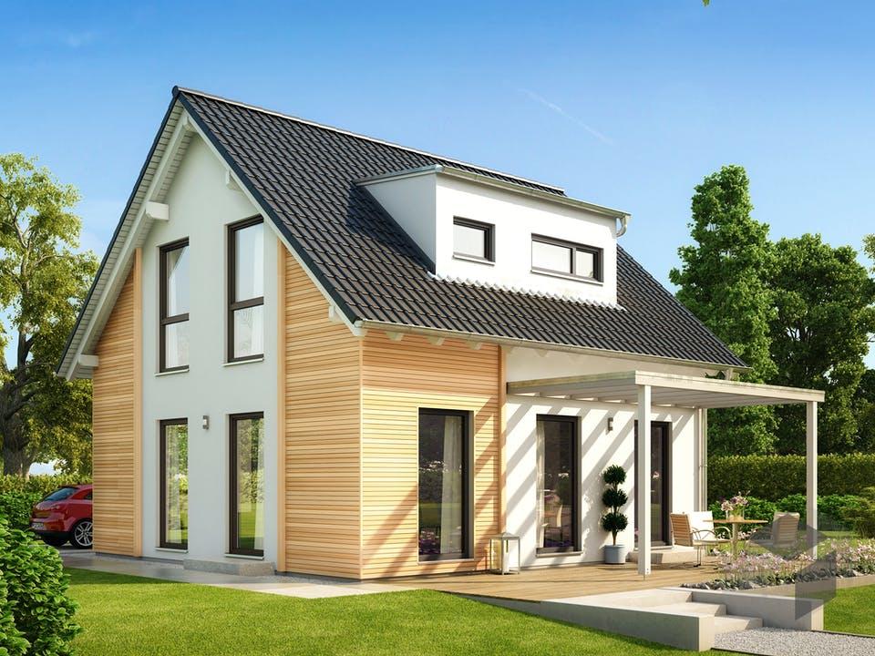 SOLUTION 106 V3 (out) von Living Haus Außenansicht