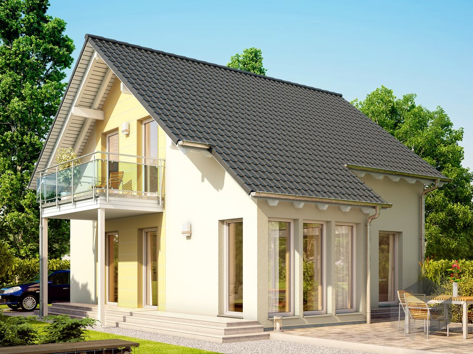 SOLUTION 106 V5 (out) von Living Haus Außenansicht