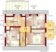 Solution 124 V2 - V3 Grundriss