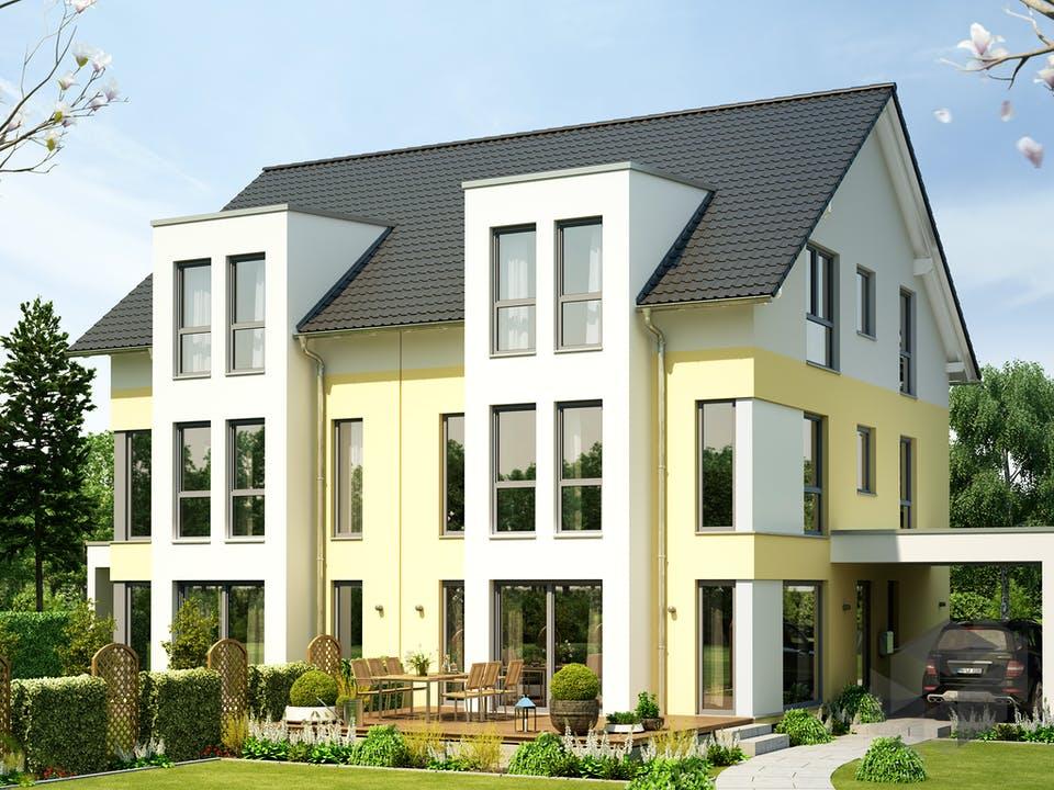 SOLUTION 126 XL V2 (out) von Living Haus Außenansicht