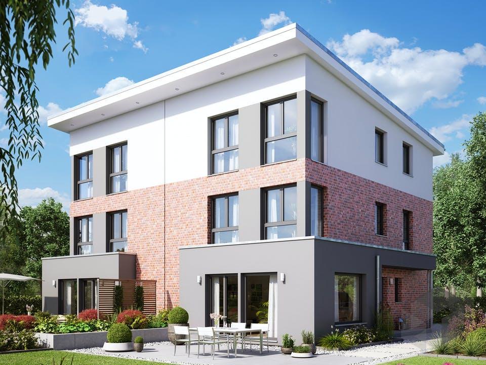 SOLUTION 126 XL V4 (out) von Living Haus Außenansicht