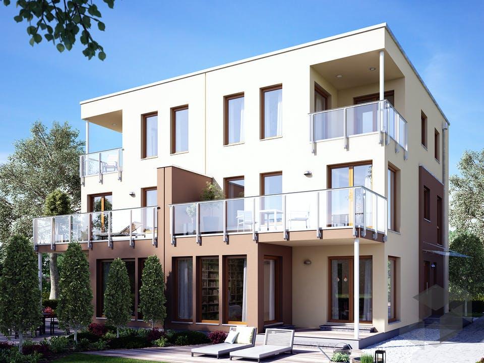 SOLUTION 126 XL V5 (out) von Living Haus Außenansicht
