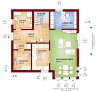 Solution 134 V2 Grundriss