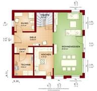 Solution 134 V4 - V5 Grundriss