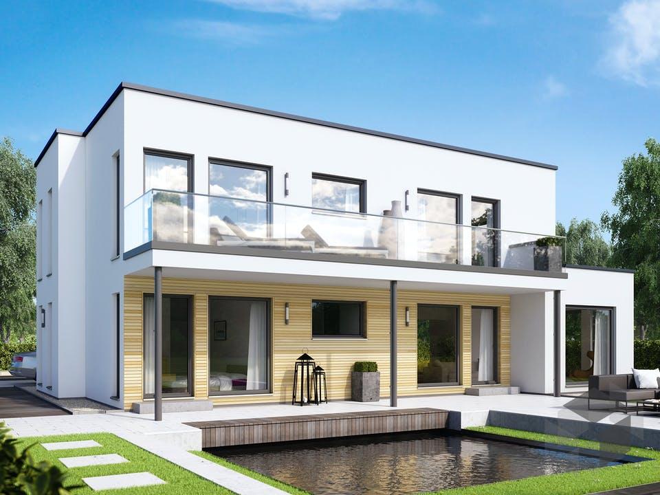SOLUTION 204 V8 L von Living Haus Außenansicht