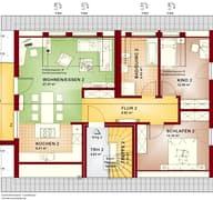 Solution 204 V2 - V3 Grundriss