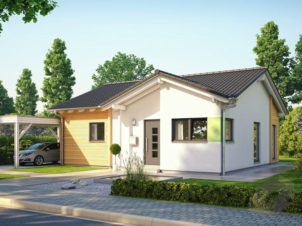SOLUTION 78 V3 von Living Haus Außenansicht