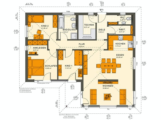 Solution 100 V2-V3 Floorplan 1