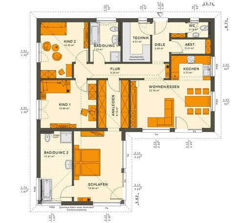 Solution 100 V2-V3 Floorplan 2