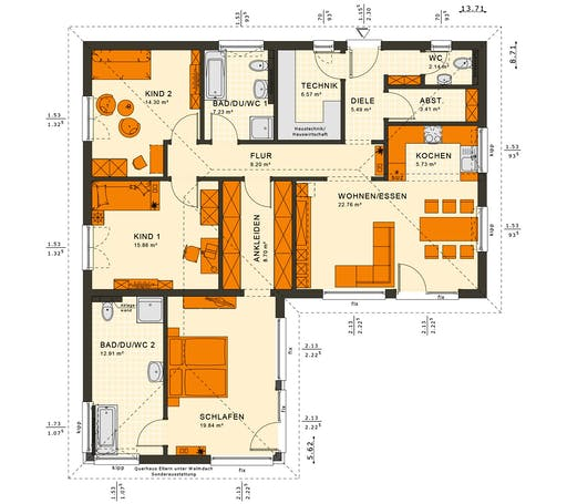 Solutions 100 V3 Floorplan 2