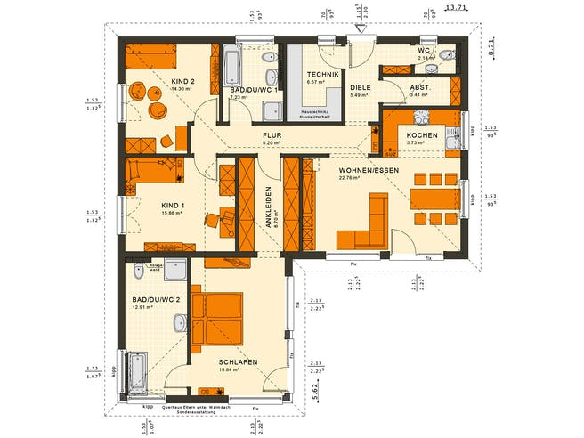 Solutions 100 V3 Floorplan 2